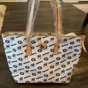 University of Georgia Dooney & Bourke ShopperPurse